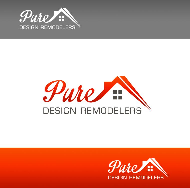 Logo Design by Creasian - Entry No. 119 in the Logo Design Contest Custom Logo Design for Pure Design Remodelers.
