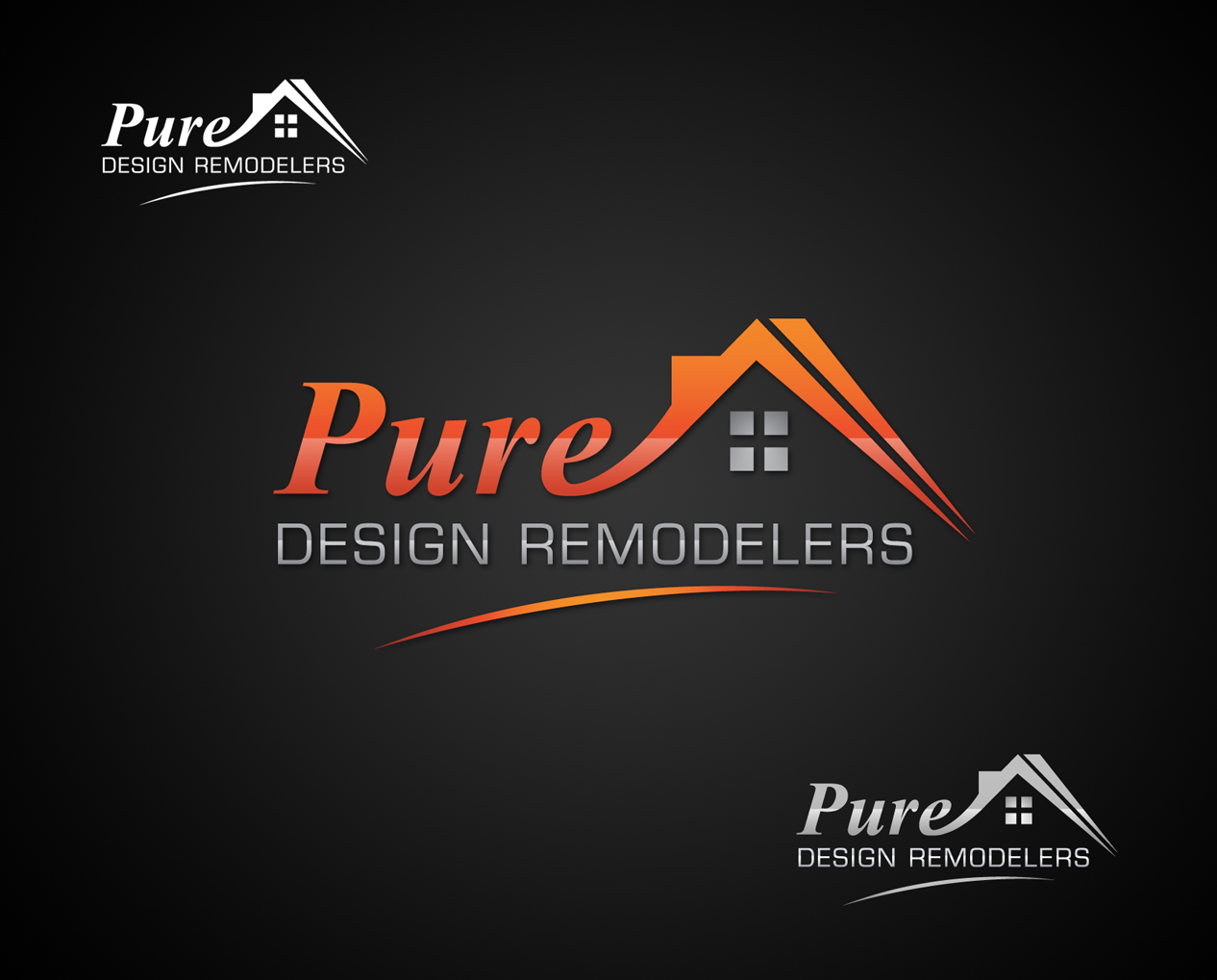 Logo Design by Creasian - Entry No. 122 in the Logo Design Contest Custom Logo Design for Pure Design Remodelers.