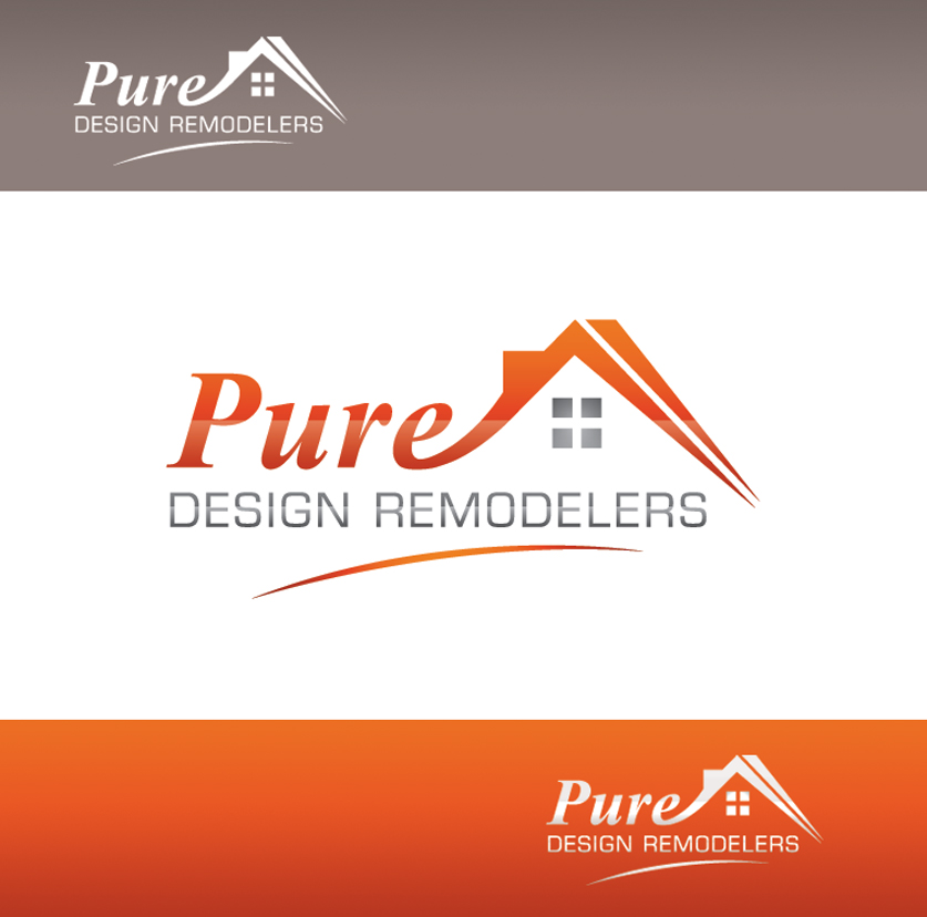 Logo Design by Creasian - Entry No. 124 in the Logo Design Contest Custom Logo Design for Pure Design Remodelers.