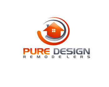 Logo Design by Private User - Entry No. 125 in the Logo Design Contest Custom Logo Design for Pure Design Remodelers.