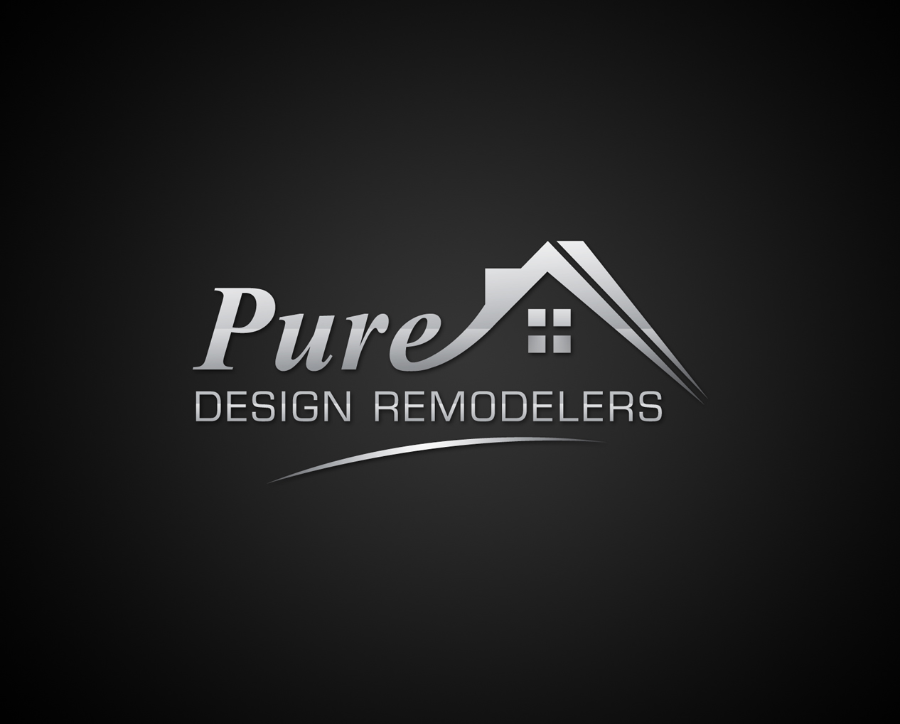 Logo Design by Creasian - Entry No. 127 in the Logo Design Contest Custom Logo Design for Pure Design Remodelers.