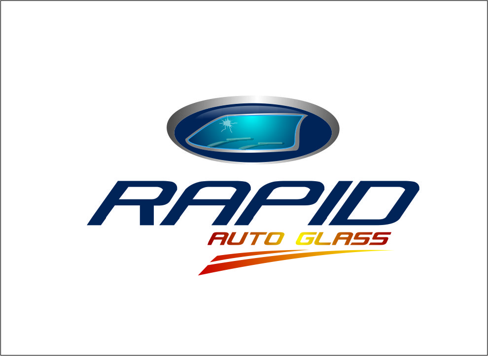 Logo Design by Agus Martoyo - Entry No. 85 in the Logo Design Contest Unique Logo Design Wanted for Rapid Auto Glass.