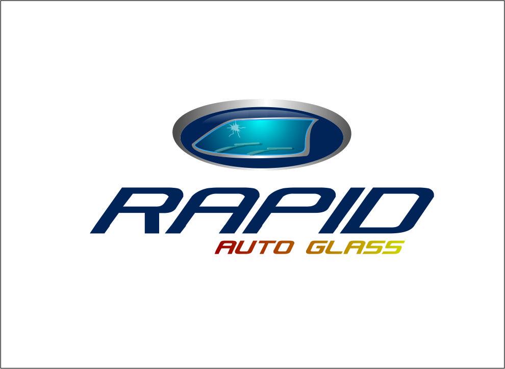 Logo Design by Agus Martoyo - Entry No. 86 in the Logo Design Contest Unique Logo Design Wanted for Rapid Auto Glass.