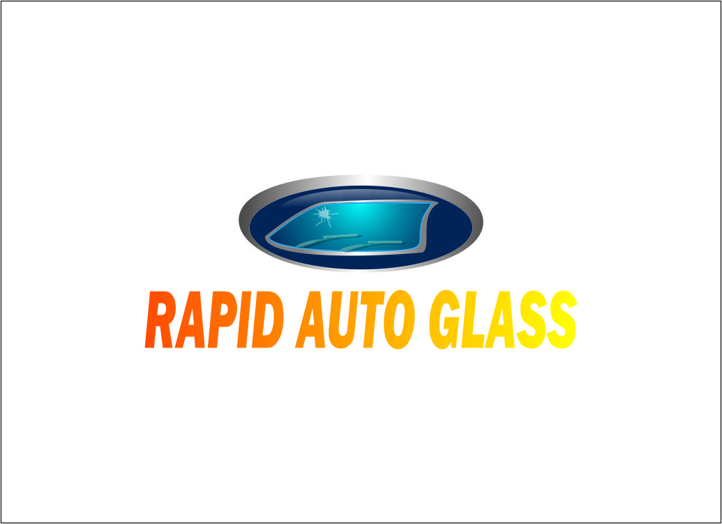 Logo Design by Agus Martoyo - Entry No. 87 in the Logo Design Contest Unique Logo Design Wanted for Rapid Auto Glass.