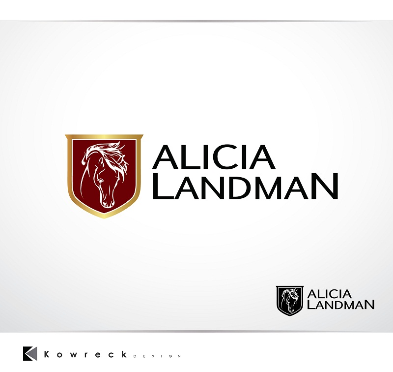 Logo Design by kowreck - Entry No. 69 in the Logo Design Contest Fun Logo Design for Alicia Landman.