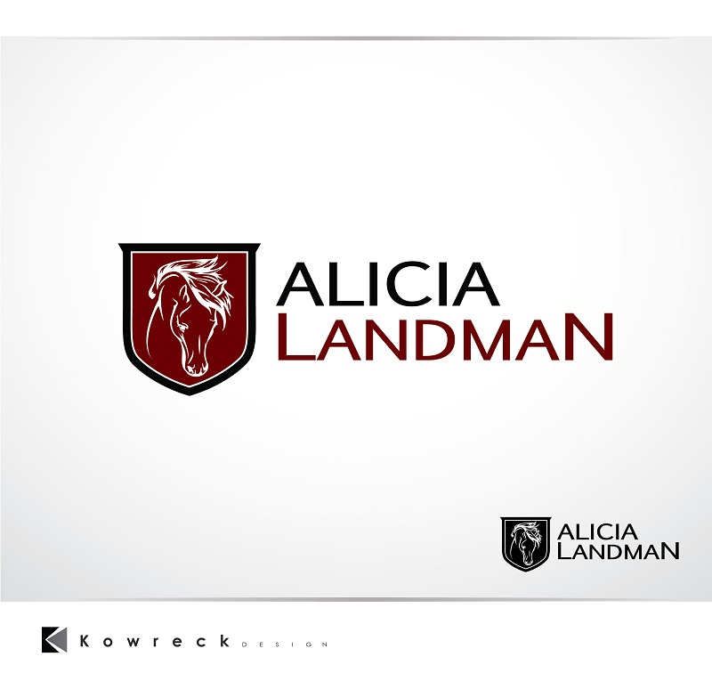 Logo Design by kowreck - Entry No. 70 in the Logo Design Contest Fun Logo Design for Alicia Landman.