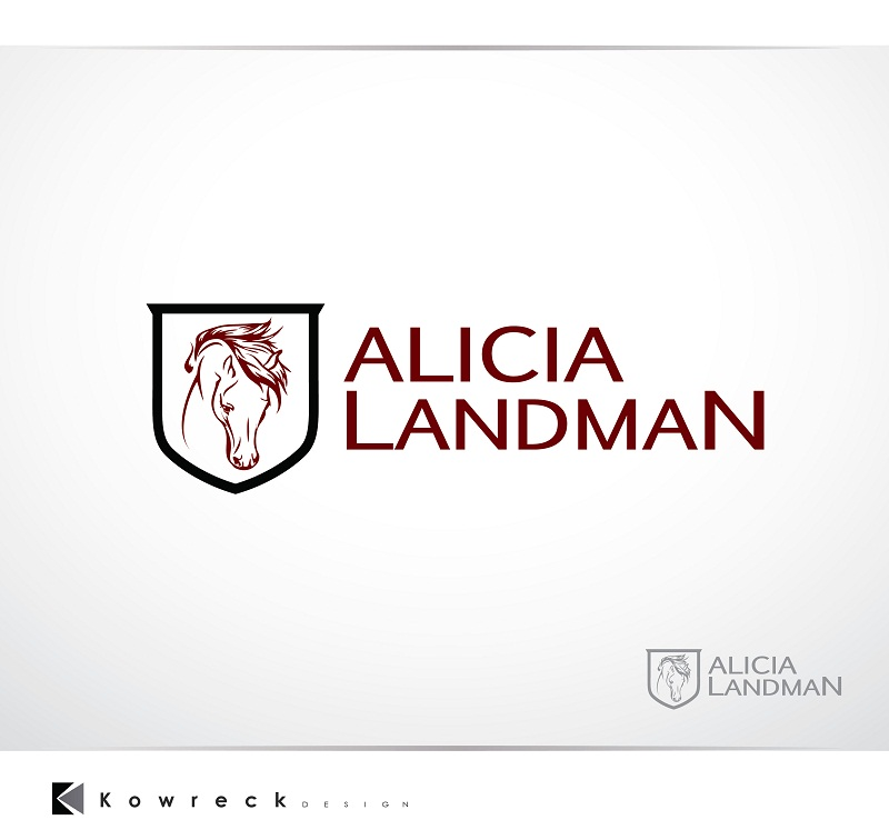 Logo Design by kowreck - Entry No. 71 in the Logo Design Contest Fun Logo Design for Alicia Landman.