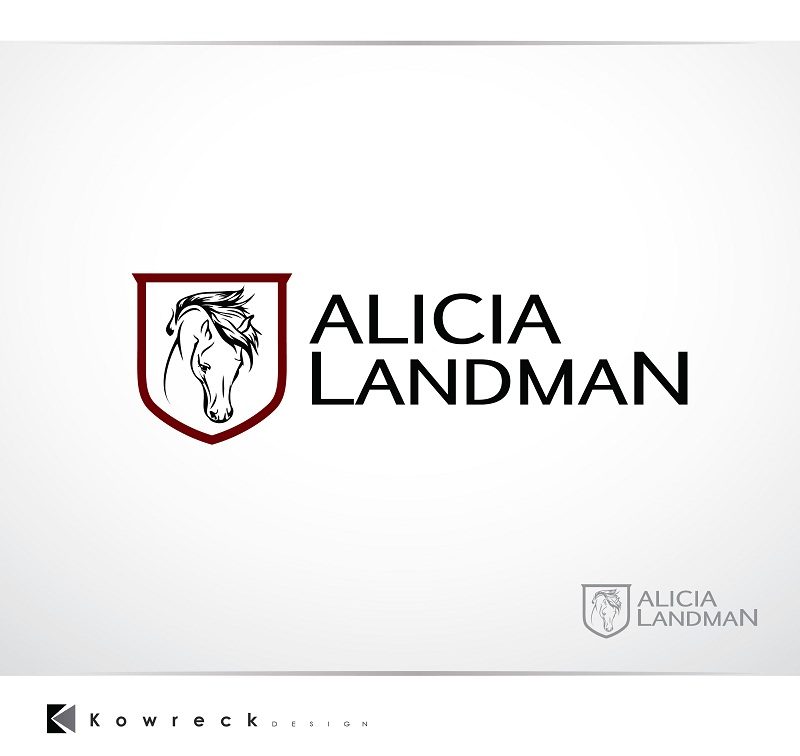 Logo Design by kowreck - Entry No. 72 in the Logo Design Contest Fun Logo Design for Alicia Landman.