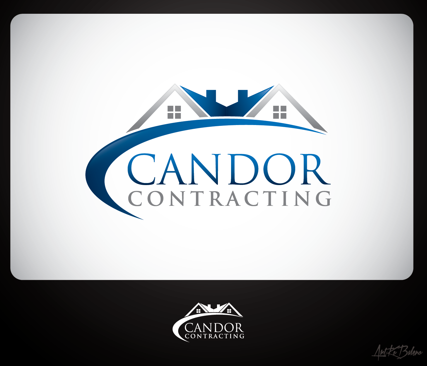 Logo Design by Private User - Entry No. 49 in the Logo Design Contest Unique Logo Design Wanted for Candor Contracting.