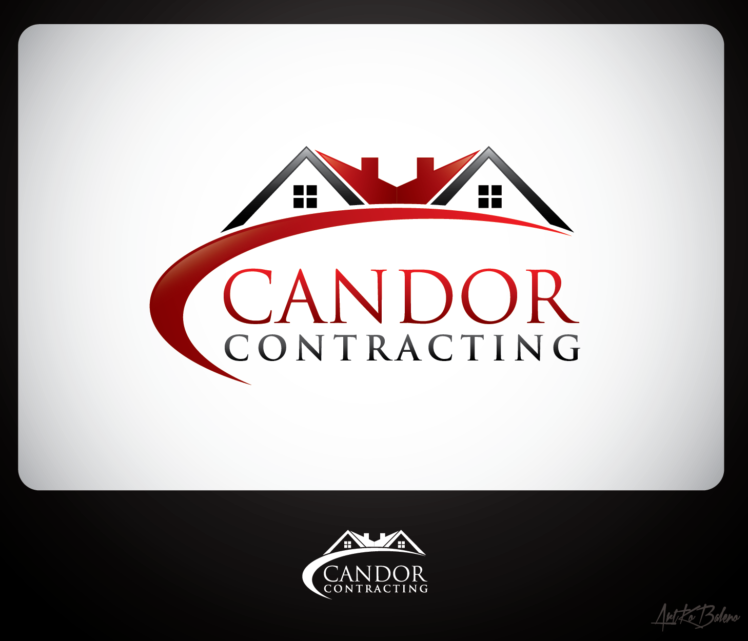 Logo Design by Private User - Entry No. 50 in the Logo Design Contest Unique Logo Design Wanted for Candor Contracting.