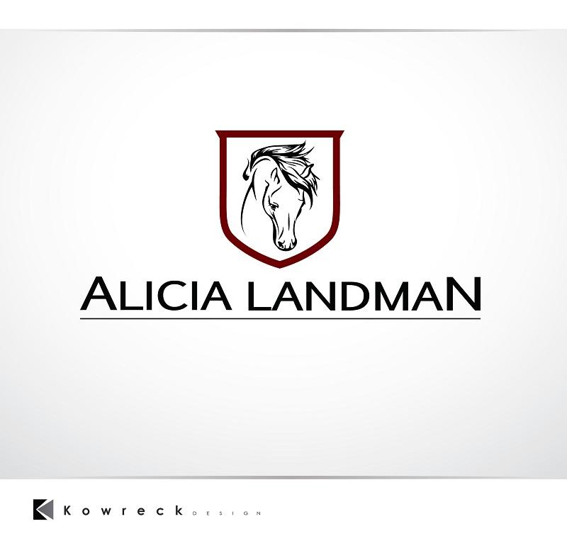 Logo Design by kowreck - Entry No. 74 in the Logo Design Contest Fun Logo Design for Alicia Landman.