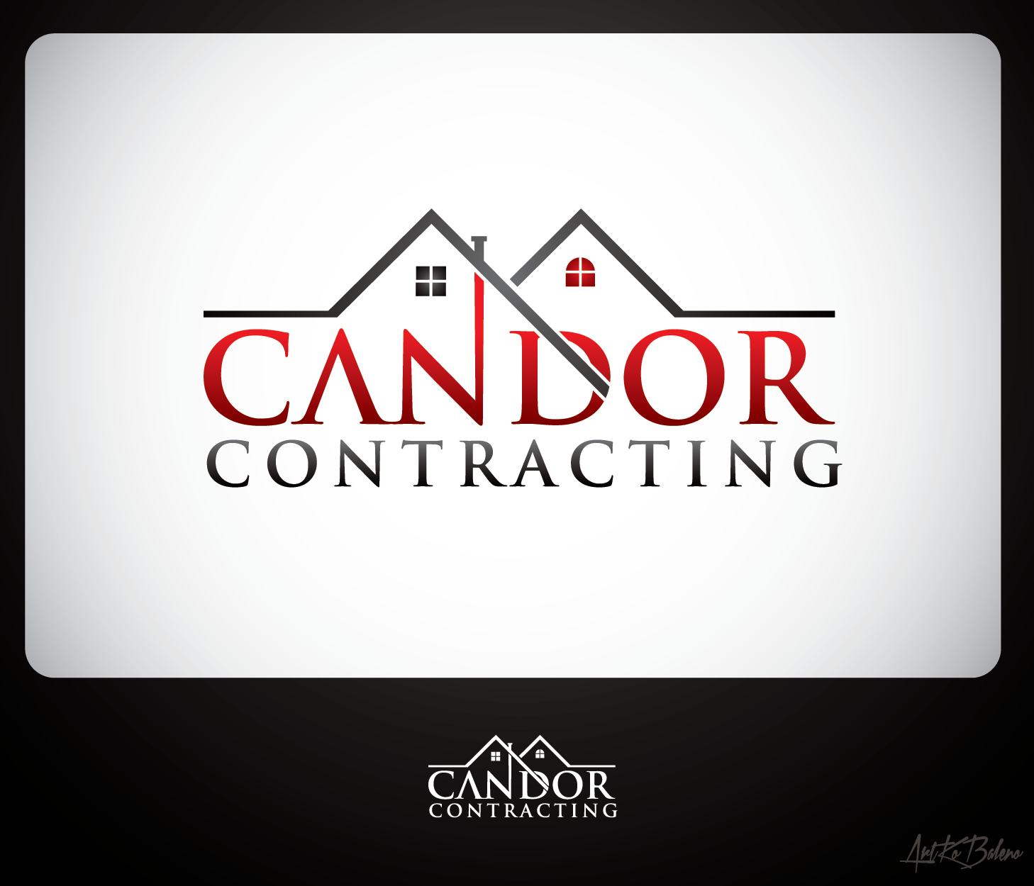 Logo Design by Private User - Entry No. 51 in the Logo Design Contest Unique Logo Design Wanted for Candor Contracting.