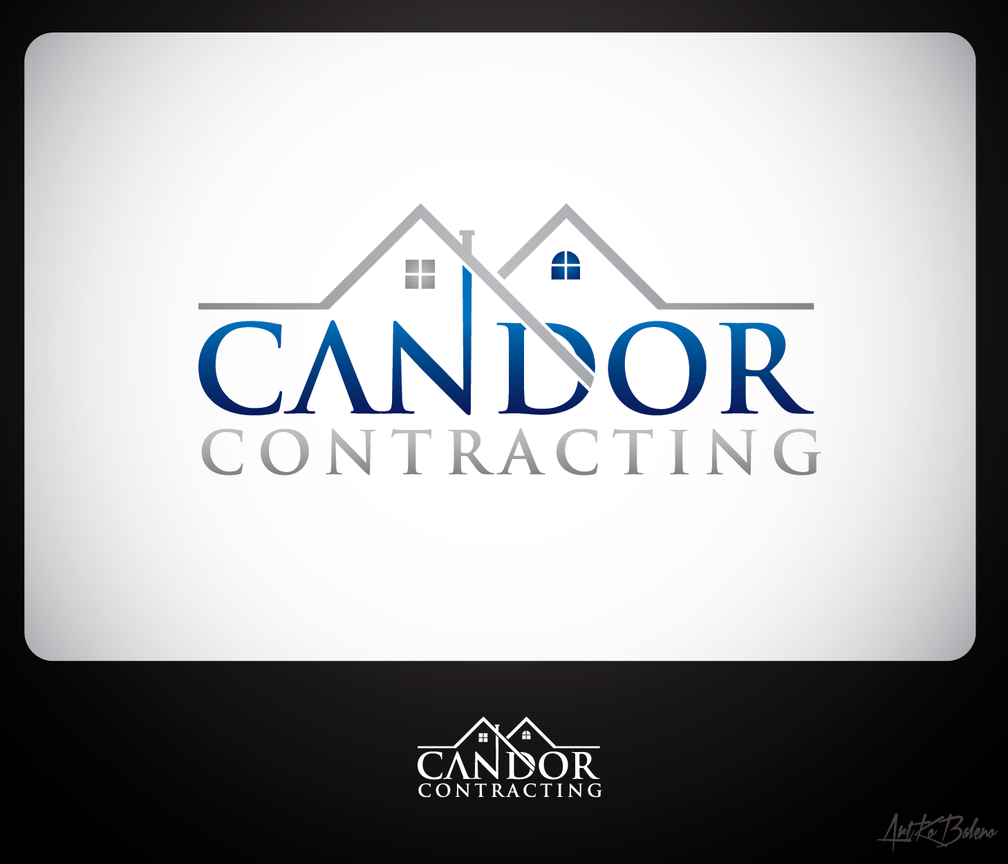 Logo Design by Private User - Entry No. 52 in the Logo Design Contest Unique Logo Design Wanted for Candor Contracting.