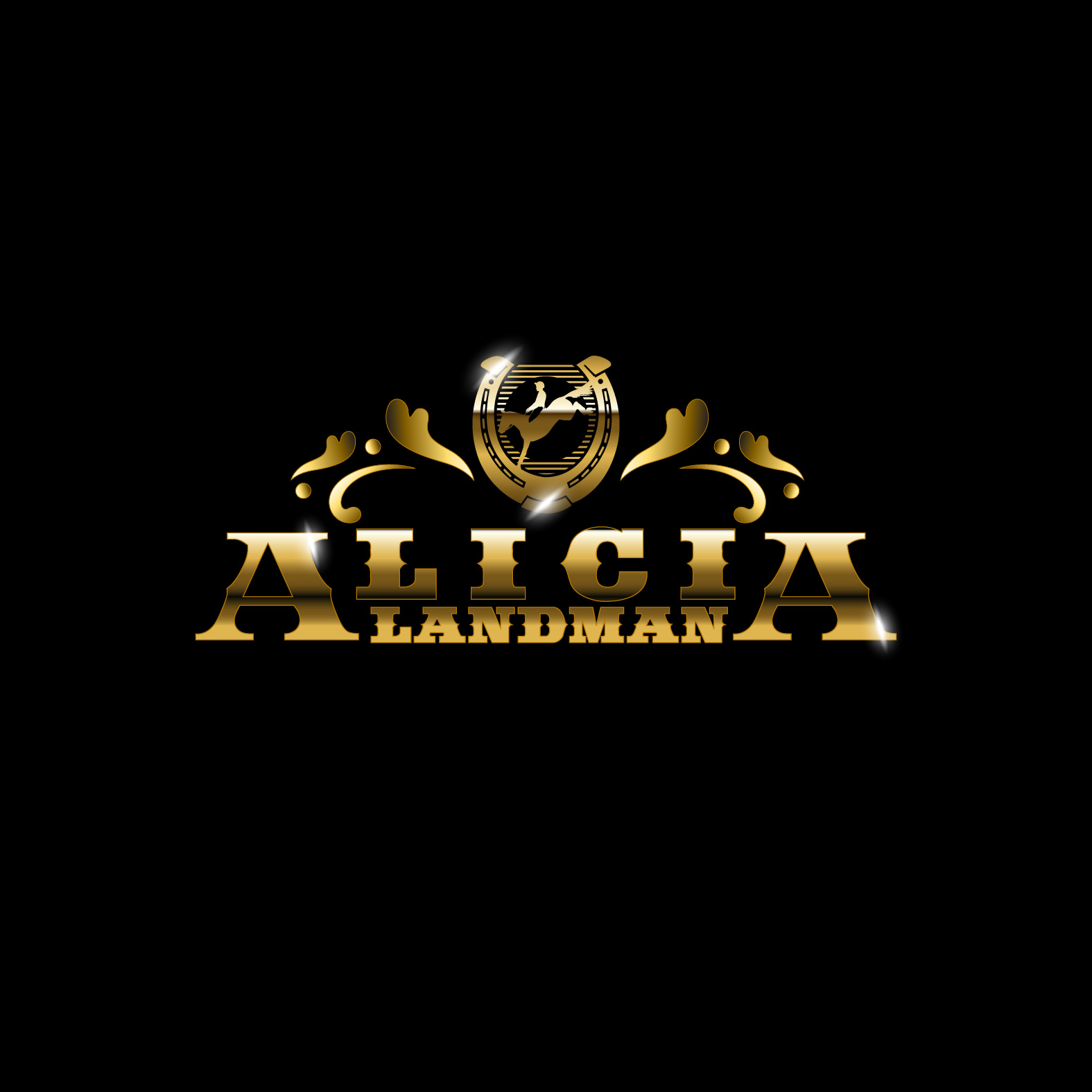 Logo Design by lagalag - Entry No. 76 in the Logo Design Contest Fun Logo Design for Alicia Landman.