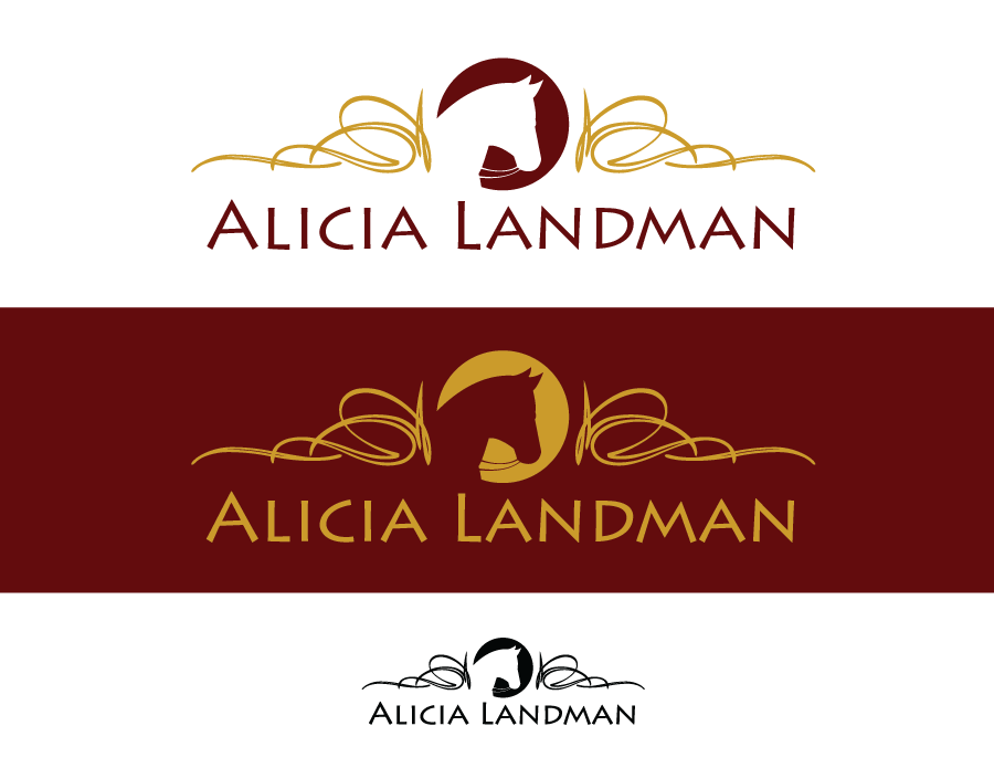 Logo Design by Christina Evans - Entry No. 77 in the Logo Design Contest Fun Logo Design for Alicia Landman.