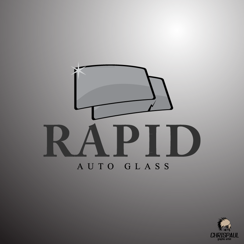 Logo Design by zesthar - Entry No. 90 in the Logo Design Contest Unique Logo Design Wanted for Rapid Auto Glass.