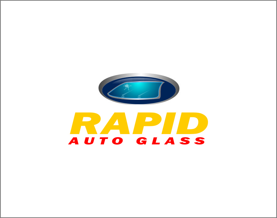 Logo Design by Agus Martoyo - Entry No. 93 in the Logo Design Contest Unique Logo Design Wanted for Rapid Auto Glass.