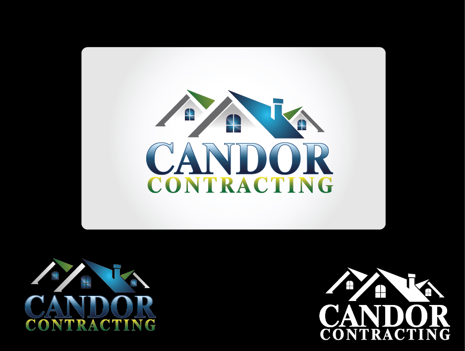 Logo Design by Private User - Entry No. 56 in the Logo Design Contest Unique Logo Design Wanted for Candor Contracting.
