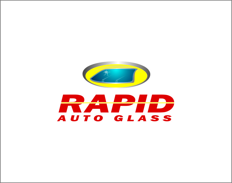 Logo Design by Agus Martoyo - Entry No. 95 in the Logo Design Contest Unique Logo Design Wanted for Rapid Auto Glass.