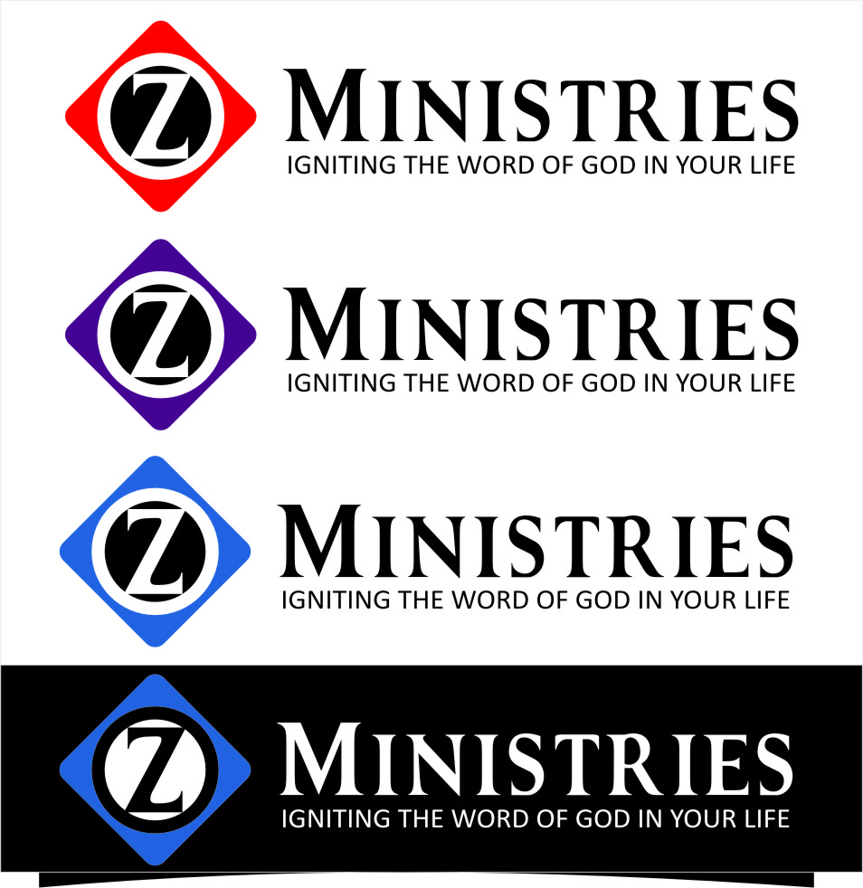 Logo Design by Ngepet_art - Entry No. 132 in the Logo Design Contest Artistic Logo Design for Z Ministries.