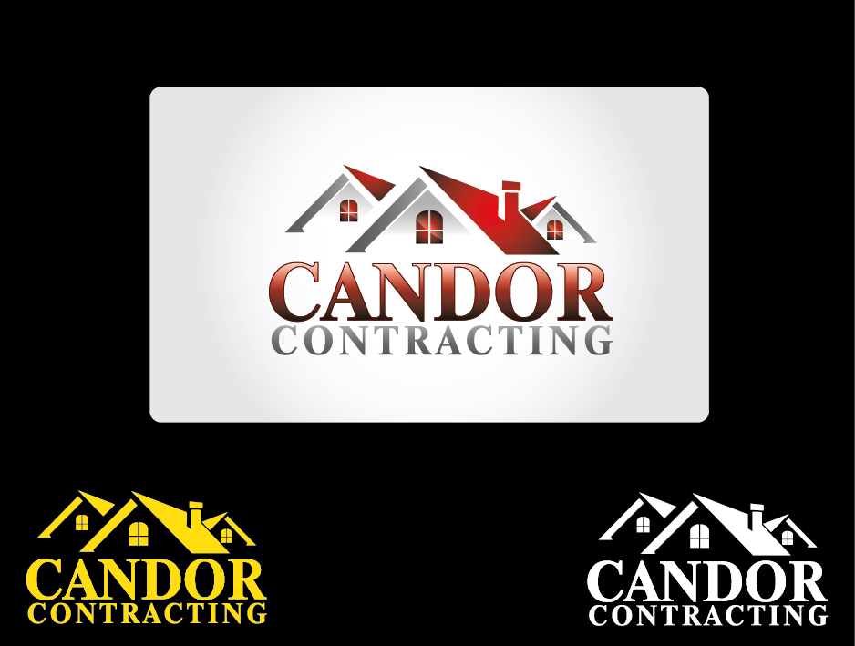 Logo Design by Private User - Entry No. 58 in the Logo Design Contest Unique Logo Design Wanted for Candor Contracting.