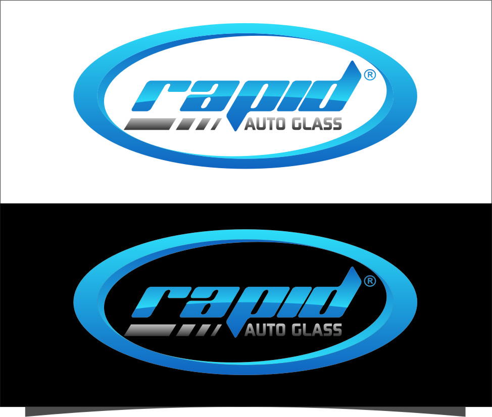 Logo Design by Ngepet_art - Entry No. 100 in the Logo Design Contest Unique Logo Design Wanted for Rapid Auto Glass.
