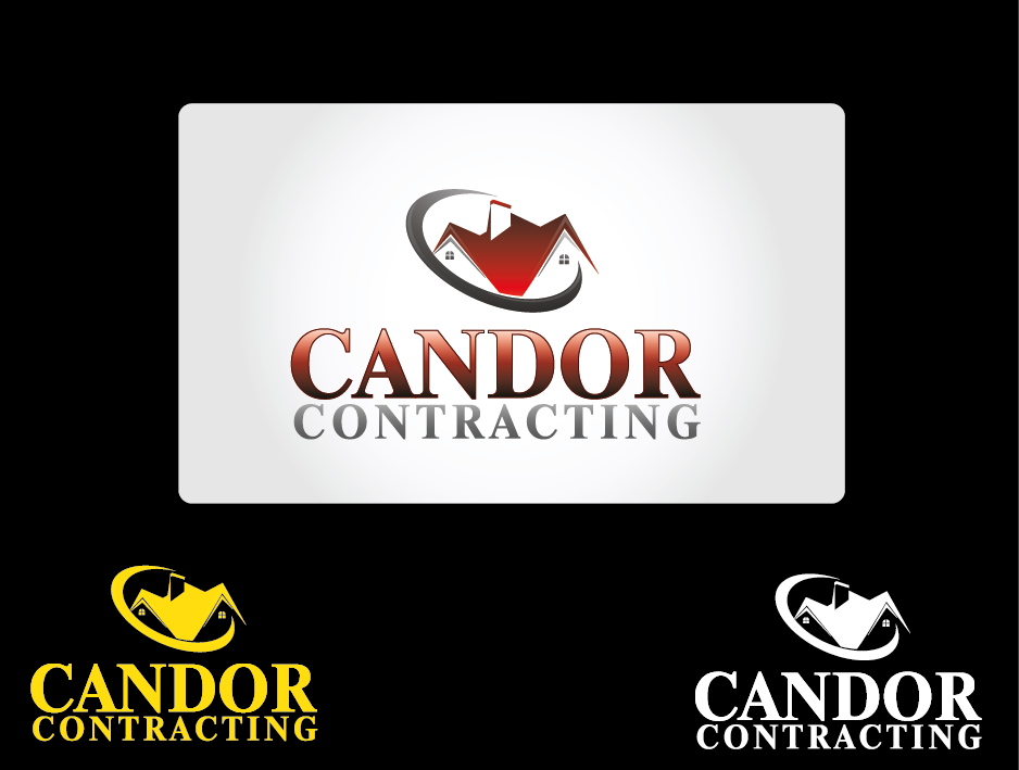 Logo Design by Private User - Entry No. 59 in the Logo Design Contest Unique Logo Design Wanted for Candor Contracting.