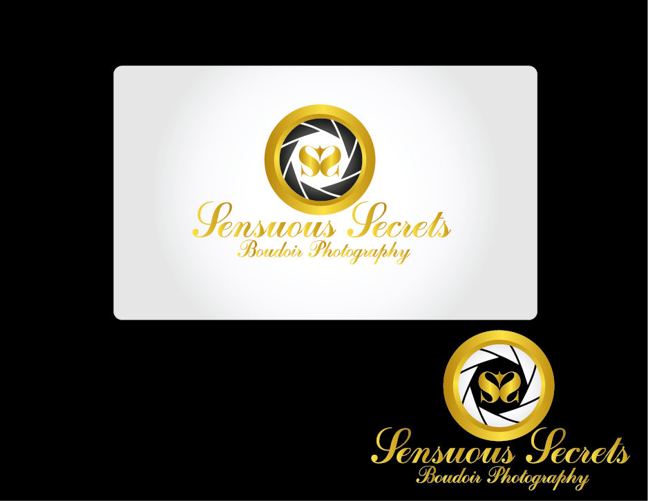 Logo Design by Private User - Entry No. 31 in the Logo Design Contest Artistic Logo Design for Sensuous Secrets Boudoir Photography.