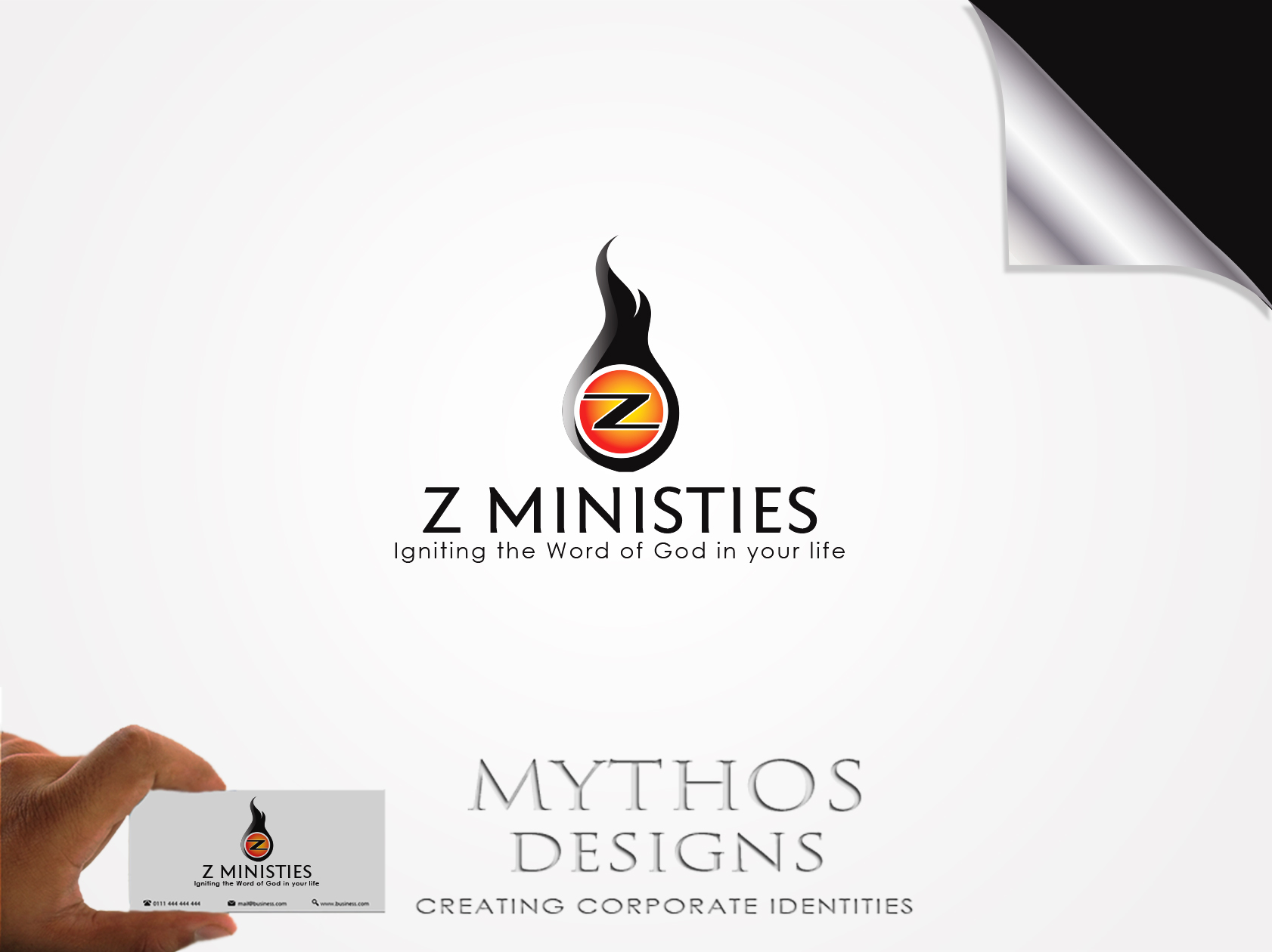 Logo Design by Mythos Designs - Entry No. 135 in the Logo Design Contest Artistic Logo Design for Z Ministries.