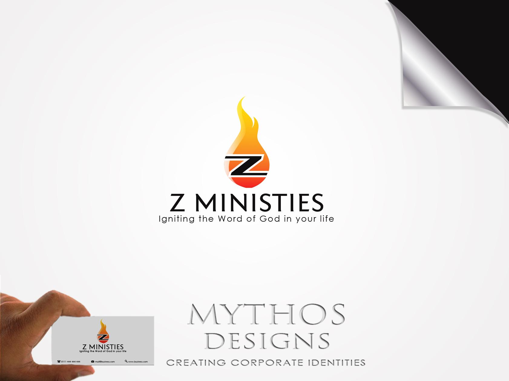 Logo Design by Mythos Designs - Entry No. 136 in the Logo Design Contest Artistic Logo Design for Z Ministries.