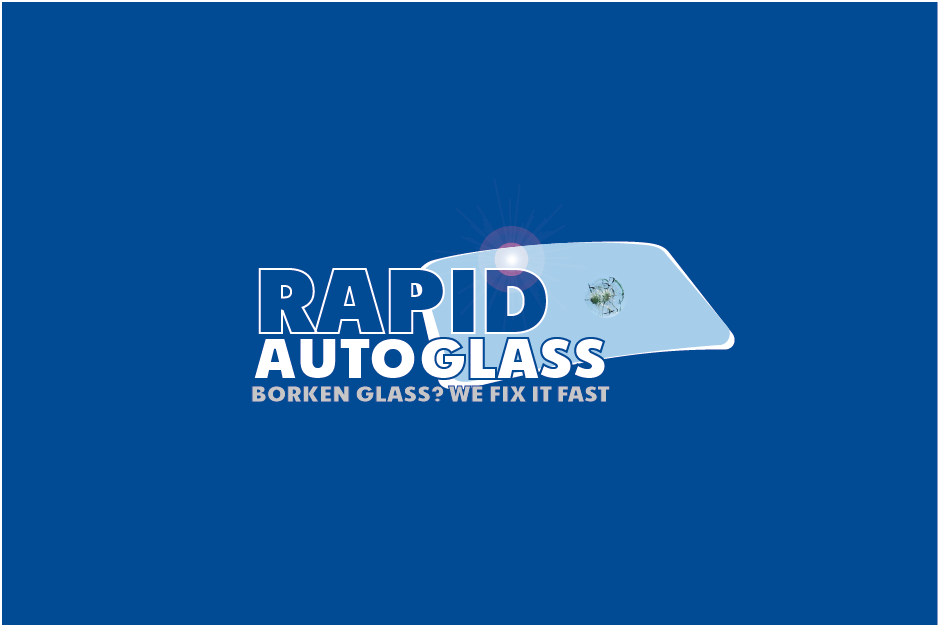 Logo Design by Private User - Entry No. 104 in the Logo Design Contest Unique Logo Design Wanted for Rapid Auto Glass.