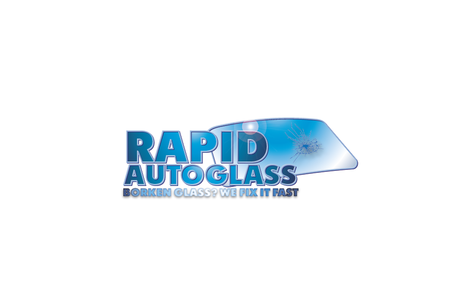 Logo Design by Private User - Entry No. 105 in the Logo Design Contest Unique Logo Design Wanted for Rapid Auto Glass.