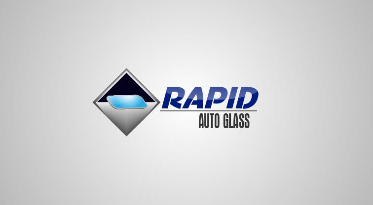 Logo Design by Private User - Entry No. 108 in the Logo Design Contest Unique Logo Design Wanted for Rapid Auto Glass.