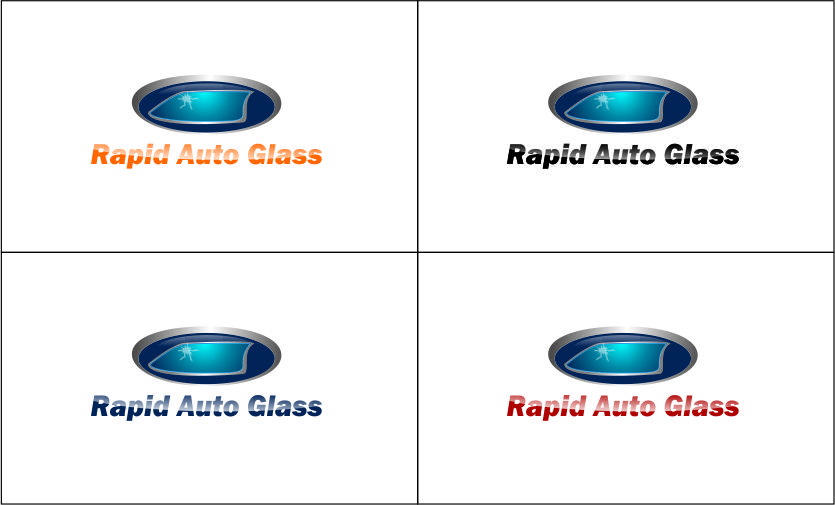 Logo Design by Agus Martoyo - Entry No. 110 in the Logo Design Contest Unique Logo Design Wanted for Rapid Auto Glass.