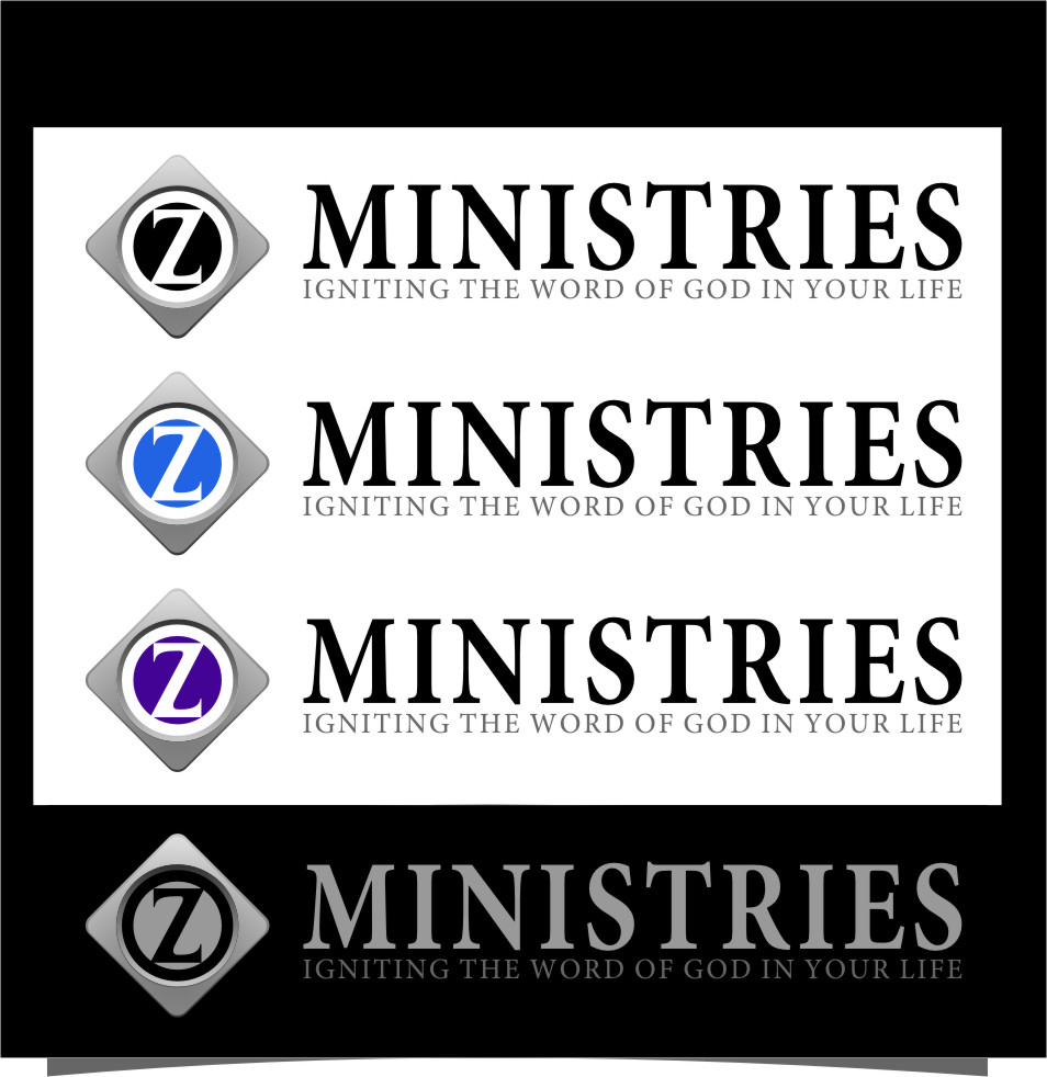 Logo Design by Ngepet_art - Entry No. 138 in the Logo Design Contest Artistic Logo Design for Z Ministries.