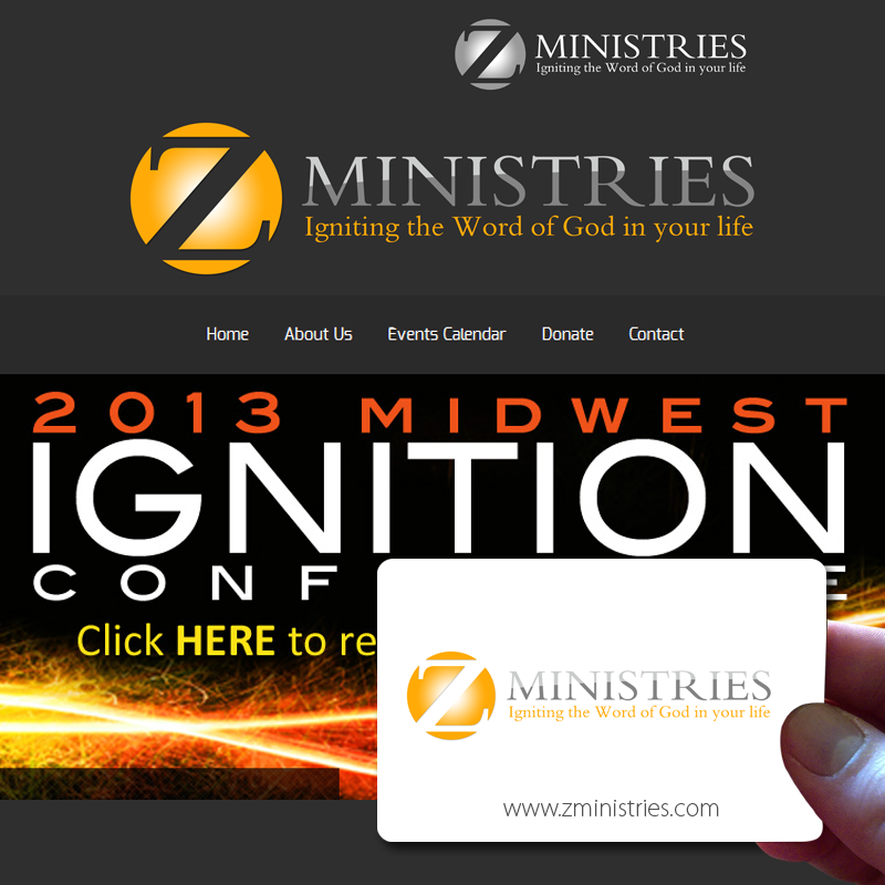 Logo Design by Private User - Entry No. 141 in the Logo Design Contest Artistic Logo Design for Z Ministries.