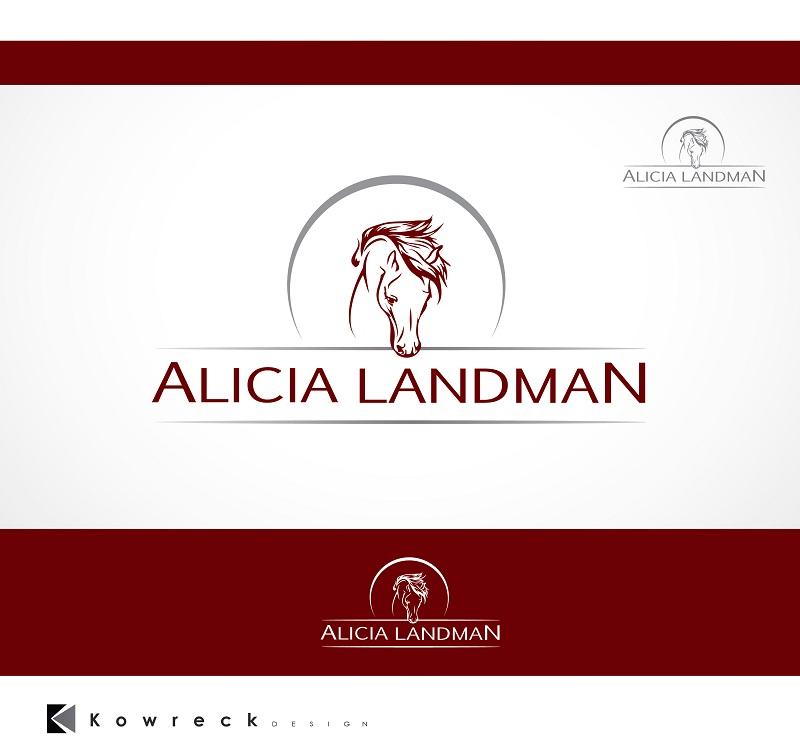 Logo Design by kowreck - Entry No. 80 in the Logo Design Contest Fun Logo Design for Alicia Landman.