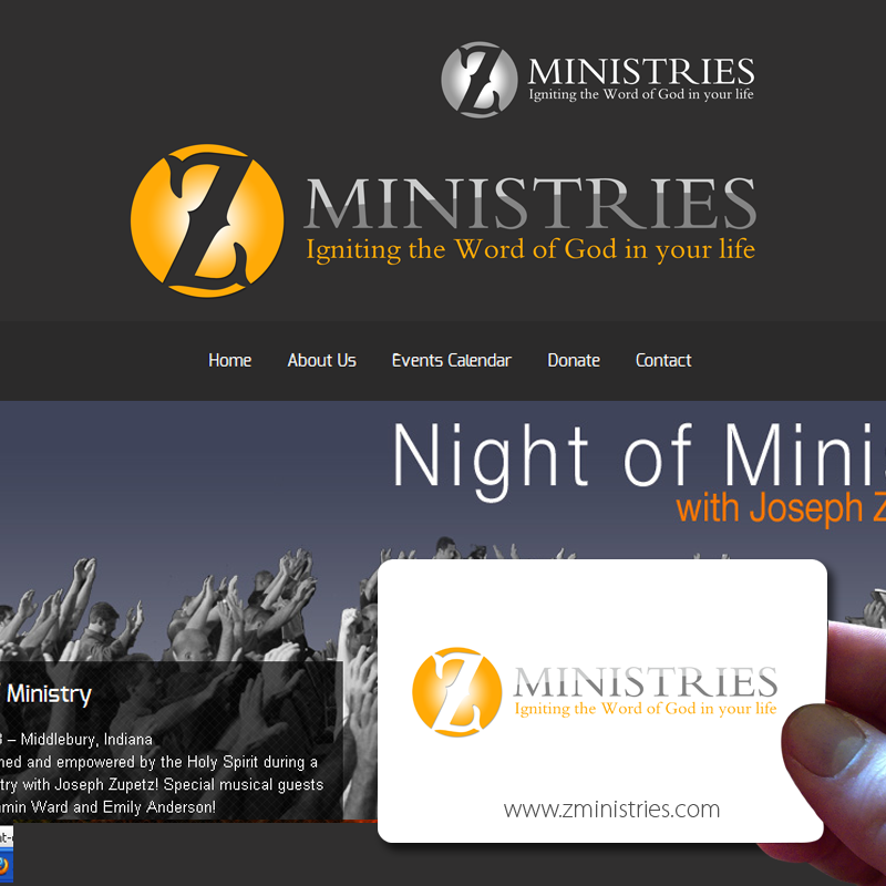 Logo Design by Private User - Entry No. 142 in the Logo Design Contest Artistic Logo Design for Z Ministries.