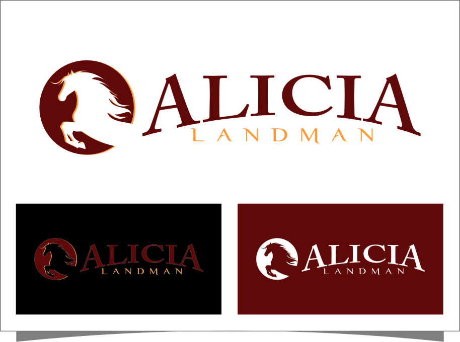 Logo Design by Ngepet_art - Entry No. 81 in the Logo Design Contest Fun Logo Design for Alicia Landman.