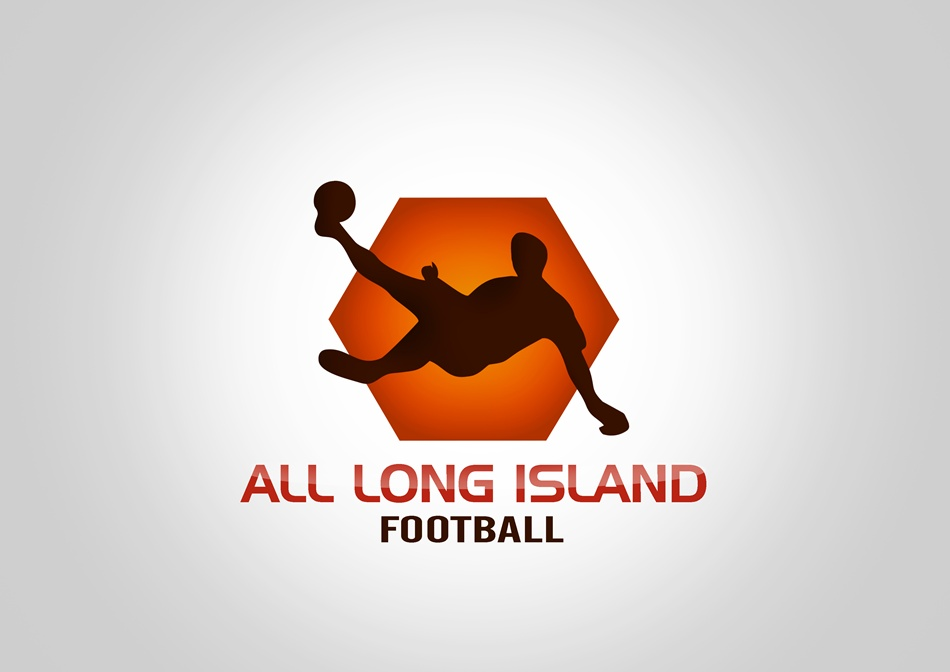 Logo Design by Respati Himawan - Entry No. 19 in the Logo Design Contest Unique Logo Design Wanted for ALL LONG ISLAND FOOTBALL.