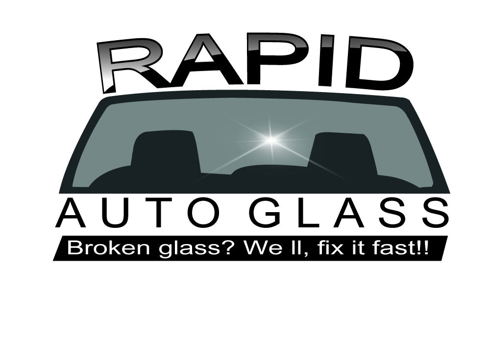 Logo Design by Pintura - Entry No. 117 in the Logo Design Contest Unique Logo Design Wanted for Rapid Auto Glass.