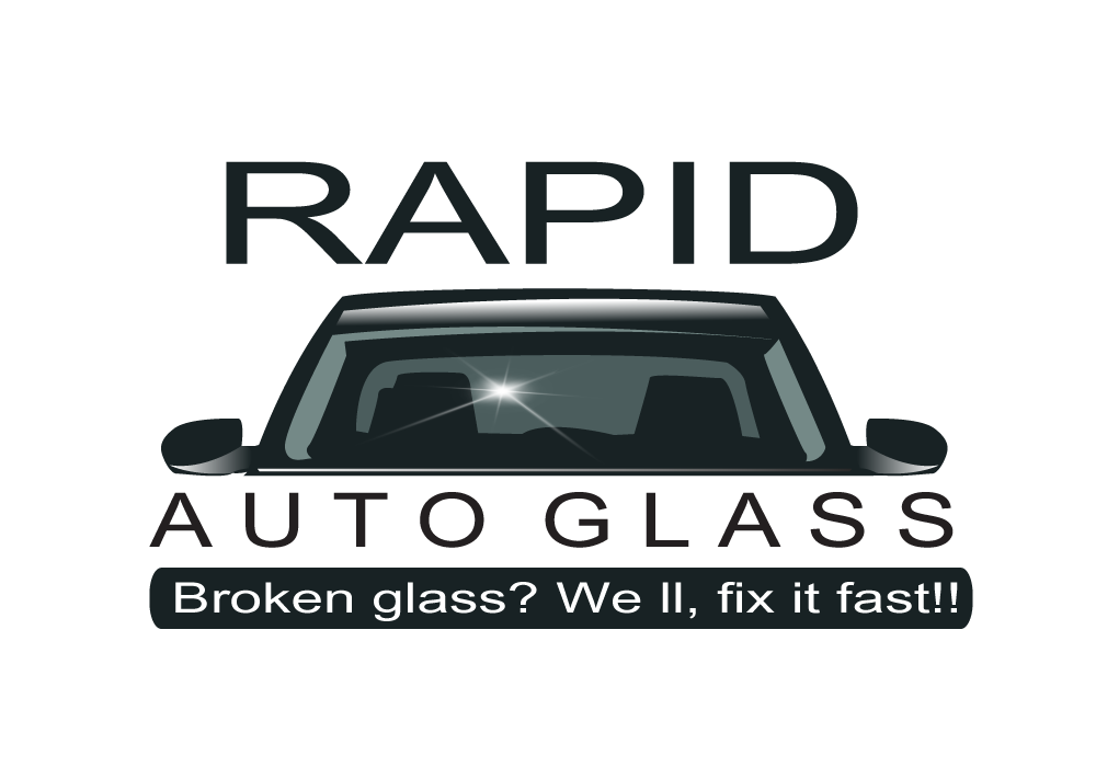 Logo Design by Pintura - Entry No. 118 in the Logo Design Contest Unique Logo Design Wanted for Rapid Auto Glass.