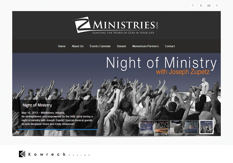 Logo Design by kowreck - Entry No. 153 in the Logo Design Contest Artistic Logo Design for Z Ministries.