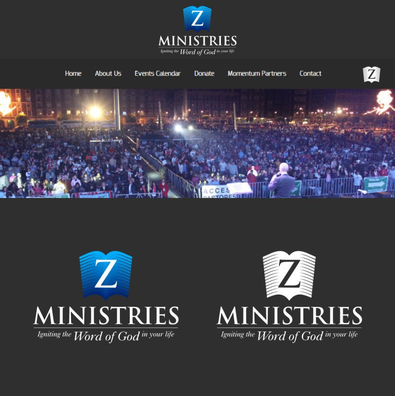 Logo Design by Private User - Entry No. 157 in the Logo Design Contest Artistic Logo Design for Z Ministries.