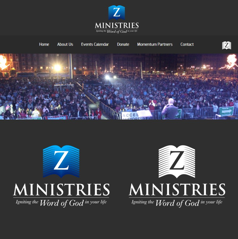 Logo Design by Private User - Entry No. 160 in the Logo Design Contest Artistic Logo Design for Z Ministries.