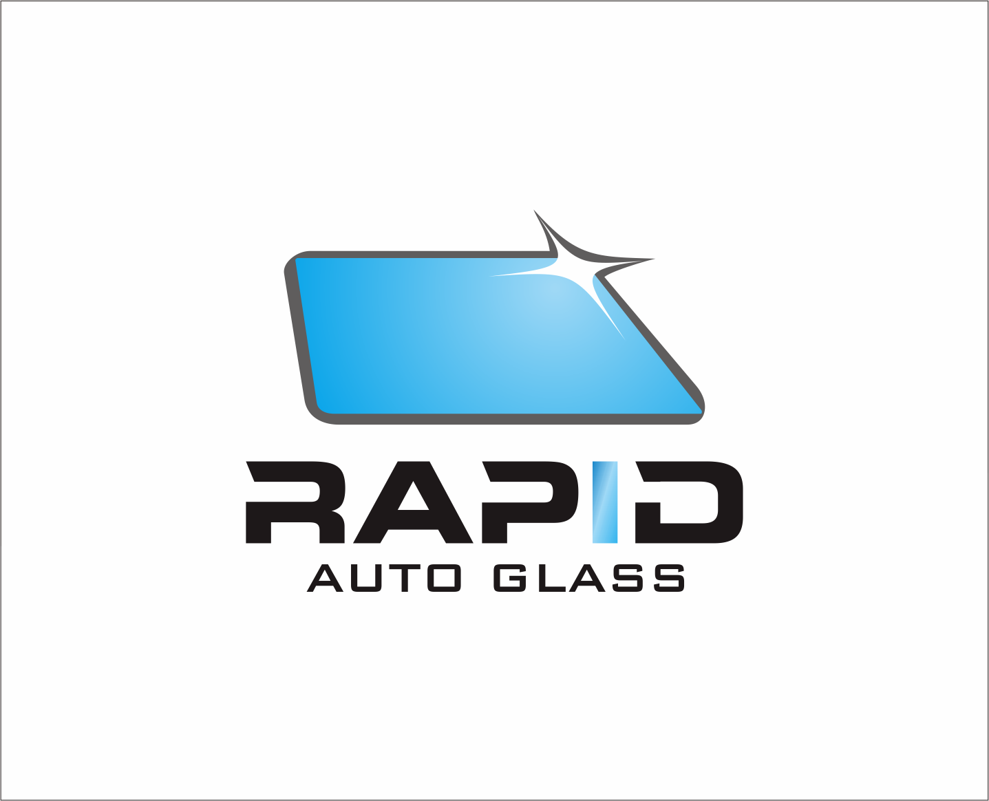 Logo Design by Armada Jamaluddin - Entry No. 119 in the Logo Design Contest Unique Logo Design Wanted for Rapid Auto Glass.