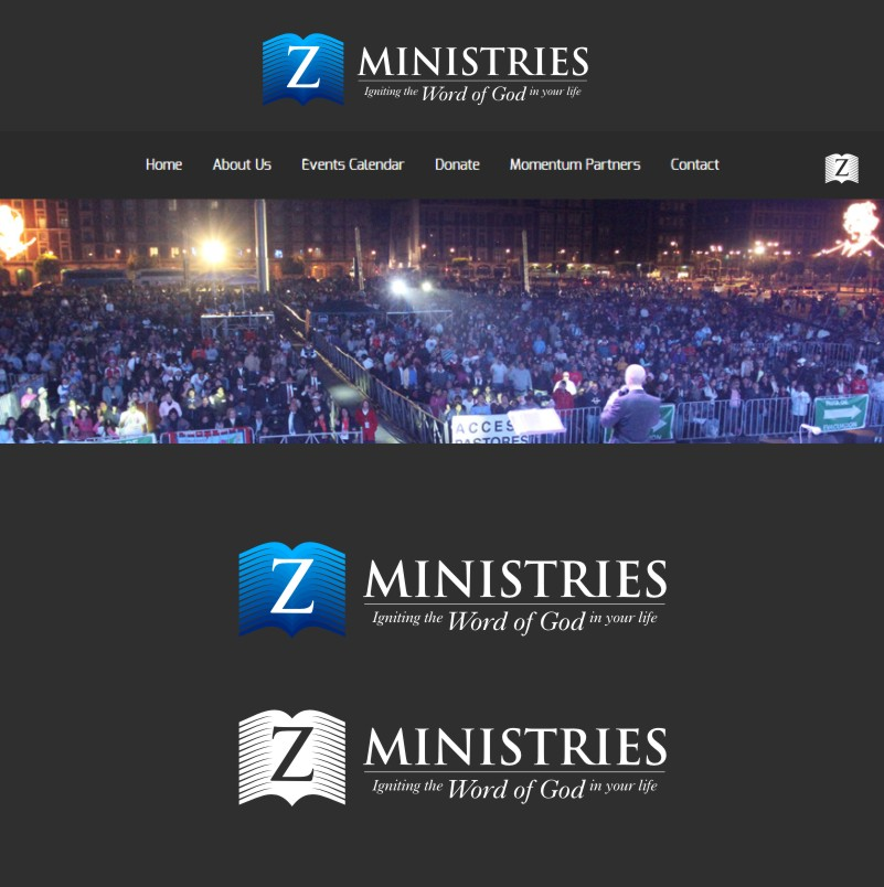Logo Design by Private User - Entry No. 163 in the Logo Design Contest Artistic Logo Design for Z Ministries.