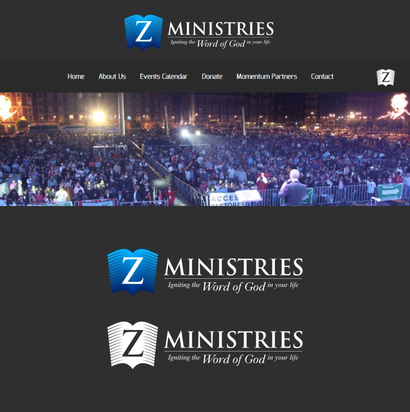 Logo Design by Private User - Entry No. 164 in the Logo Design Contest Artistic Logo Design for Z Ministries.