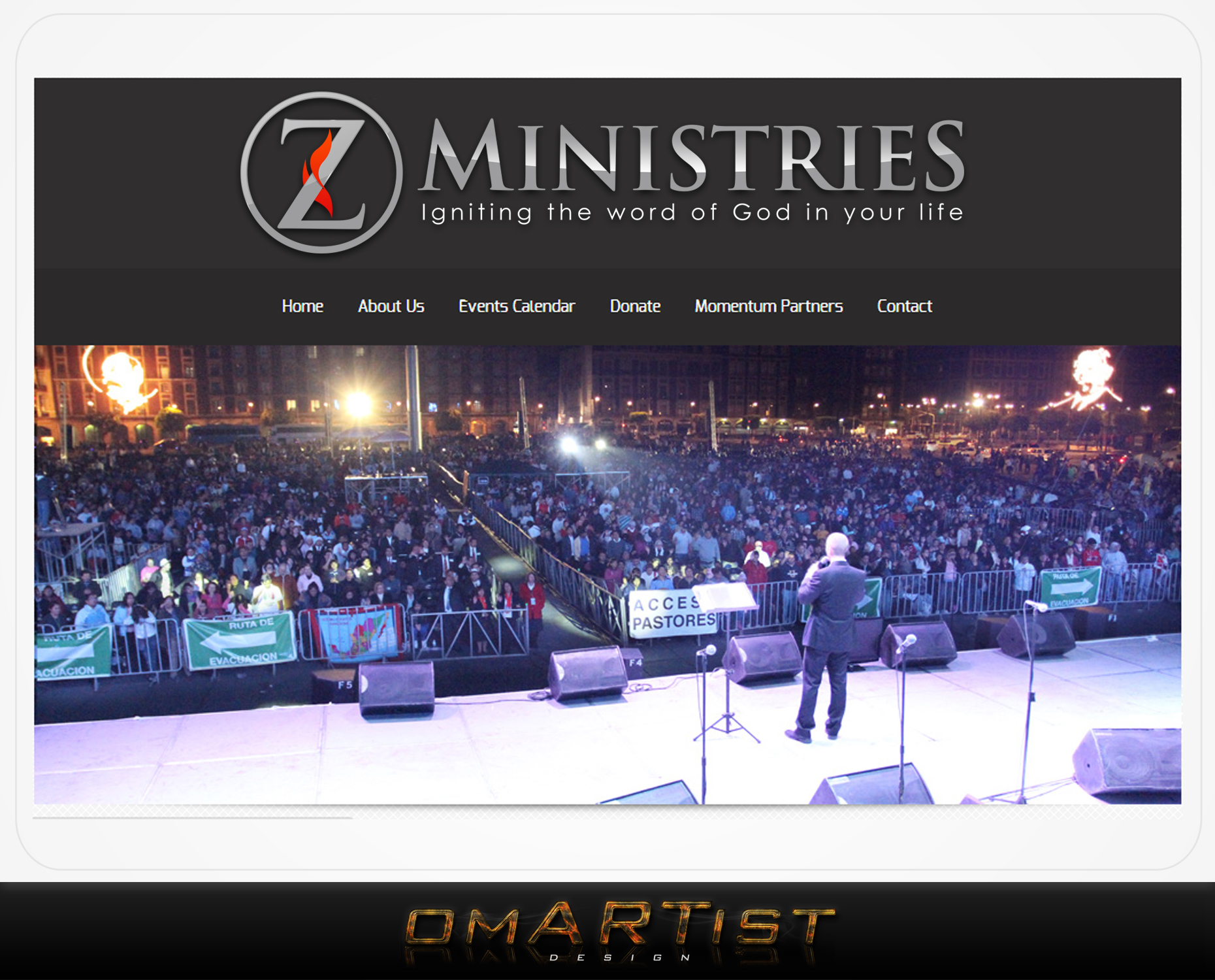 Logo Design by omARTist - Entry No. 165 in the Logo Design Contest Artistic Logo Design for Z Ministries.