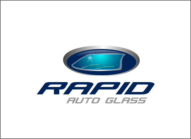 Logo Design by Agus Martoyo - Entry No. 121 in the Logo Design Contest Unique Logo Design Wanted for Rapid Auto Glass.